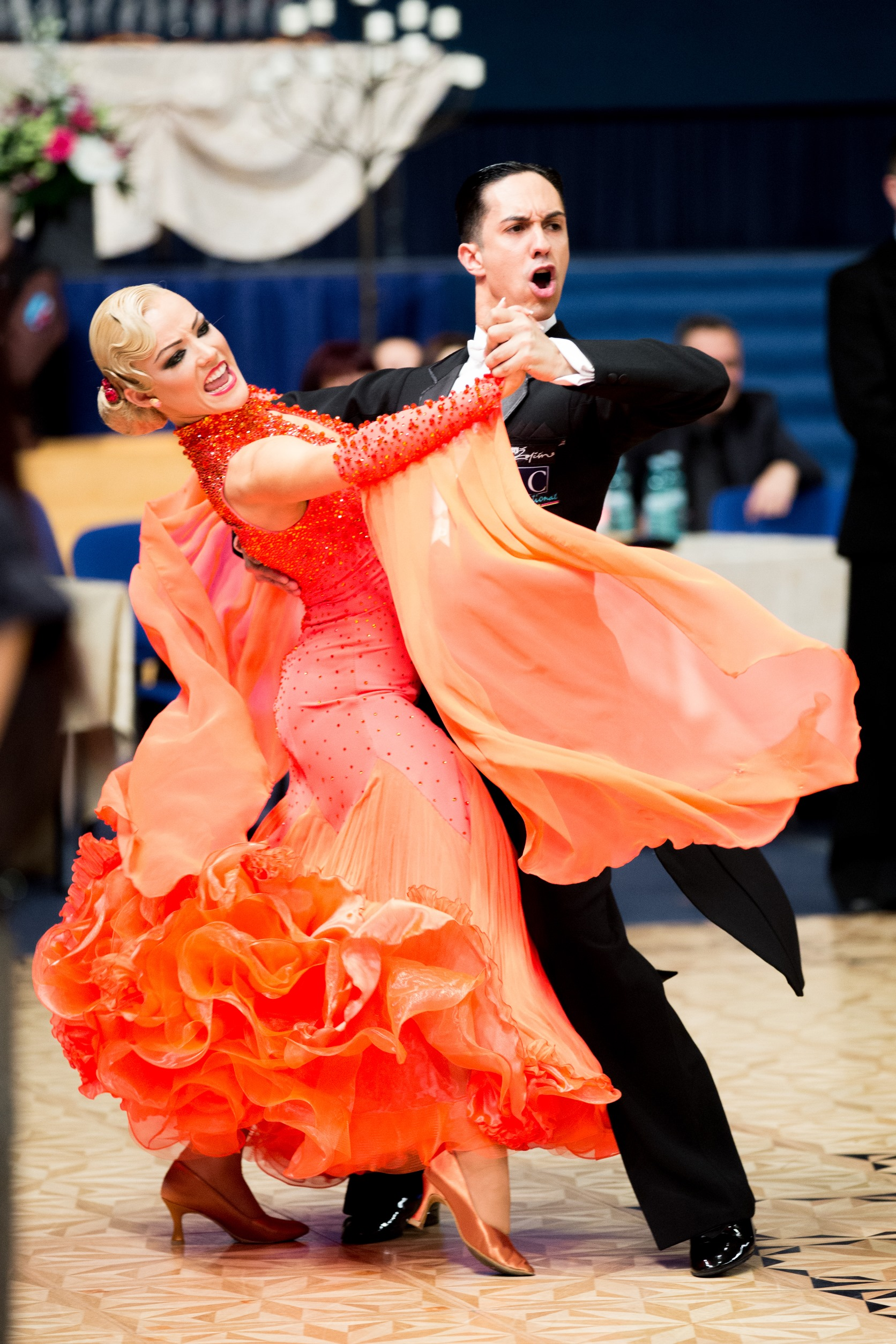 Emanuel Valeri & Tania Kehlet, photography- dancesportphoto.net