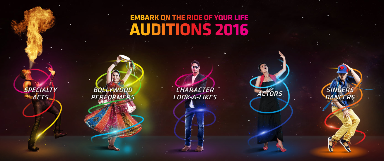 Worldwide Auditions 2016 – Dubai Parks & Resorts - Melbourne Auditions