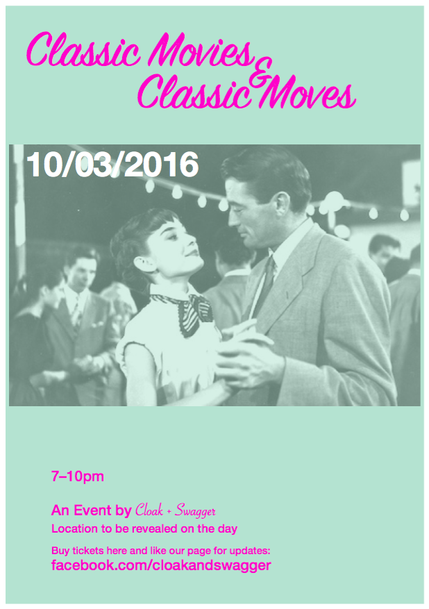 Classic Swing Dance Flyer