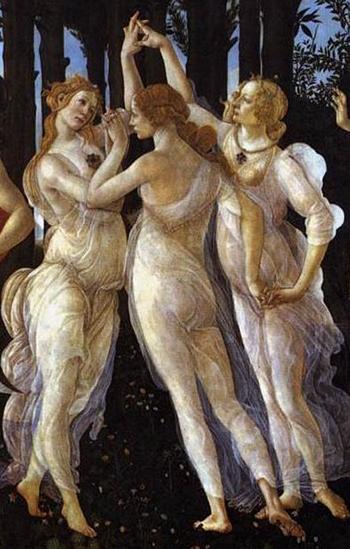 Sandro-Botticelli,-Primavera-Detail
