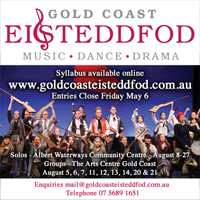 Gold Coast Eisteddfod QLD