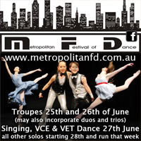 Metropolitan Festival of Dance VIC
