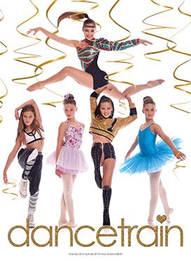 Dancetrain Magazine Front Cover March 2016