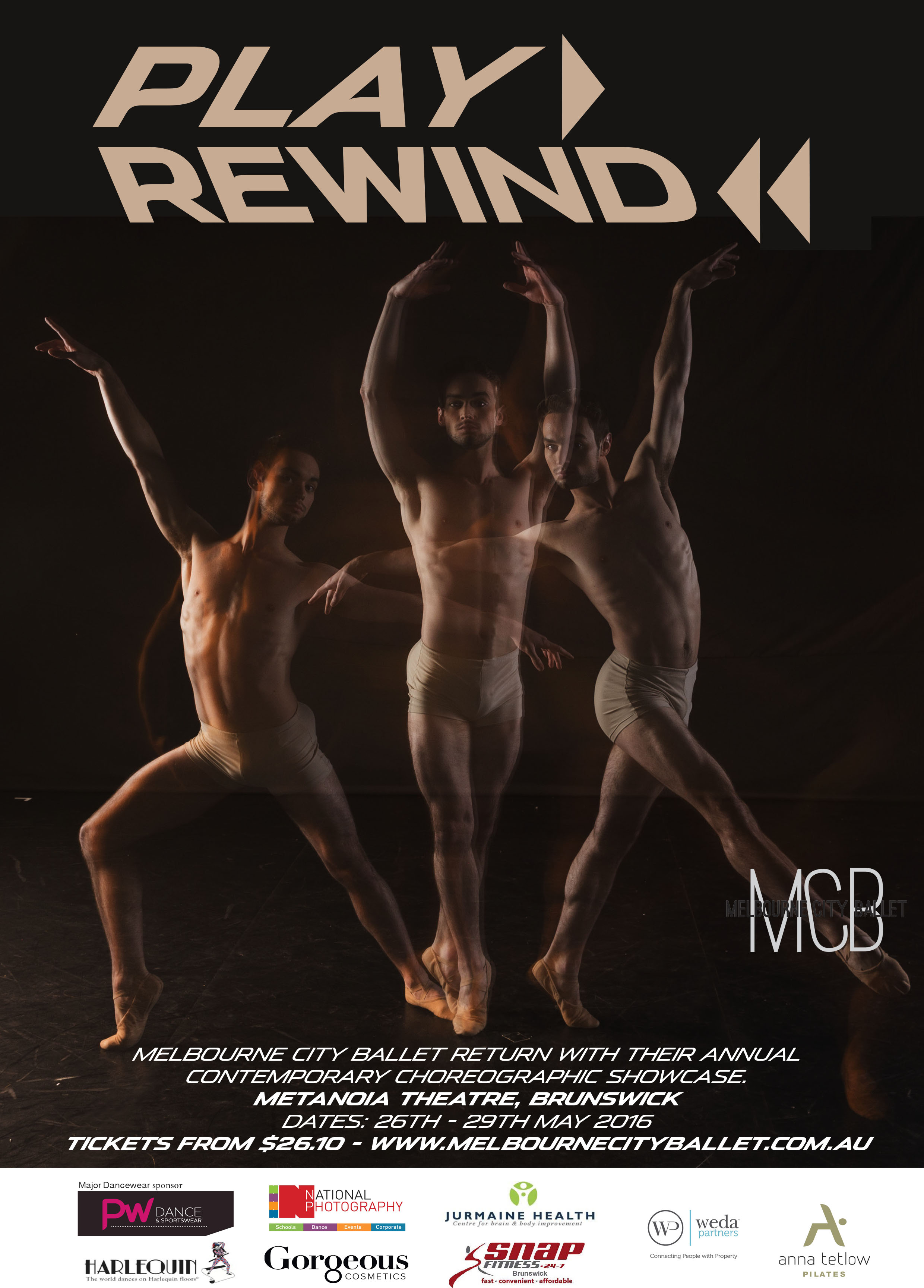 Melbourne City Ballet's Play Rewind!