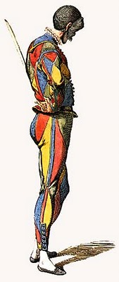 Image 3 - Illustration of 'Arlecchino' by Maurice Sand, c. 1860