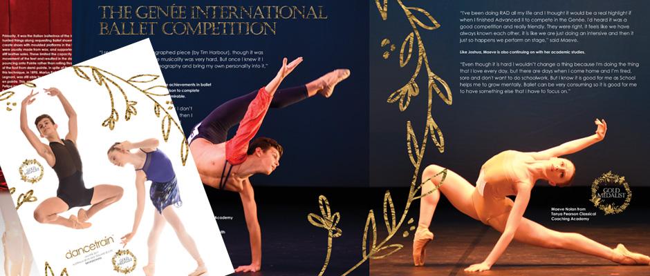Dancetrain Magazine Jan/Feb issue 2017