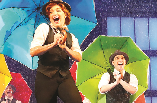 Dancetrain Singin in the rain