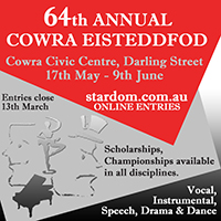 Cowra Eisteddfod 2017