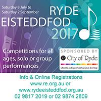 Ryde Dancing Eisteddfod 2017