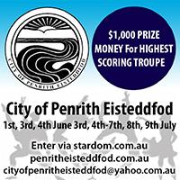 city of penrith dancing eisteddfod