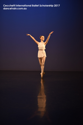 Alyssa Mong from Ballarat Dance Theatre