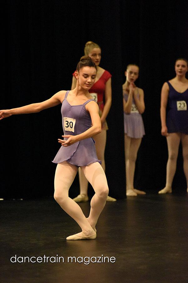 Larissa Magda from Barbara Jayne Dance Centre Intermediate:Advance Encouragement Award 2