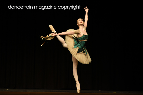 Maltisse Lewis from Jane Moore Academy of Ballet placed 3rd 2