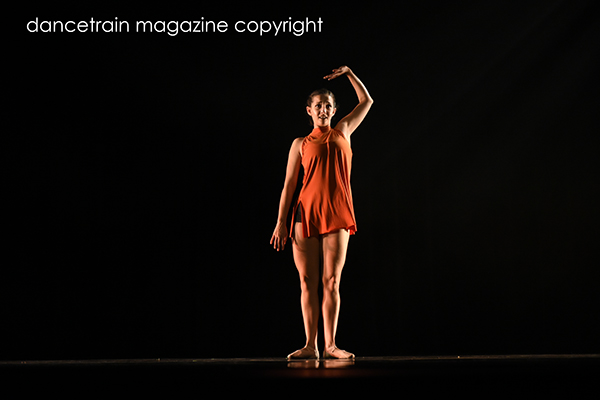Kate Rahme from The Jazz Factory choreographed by Esther Cox from Bradfield College 2